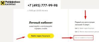 Райффайзен Капитал личный кабинет