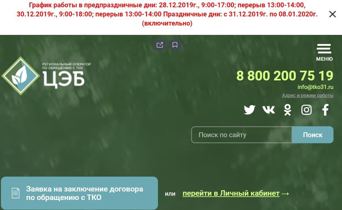 Тко31 (ЦЭБ) сайт