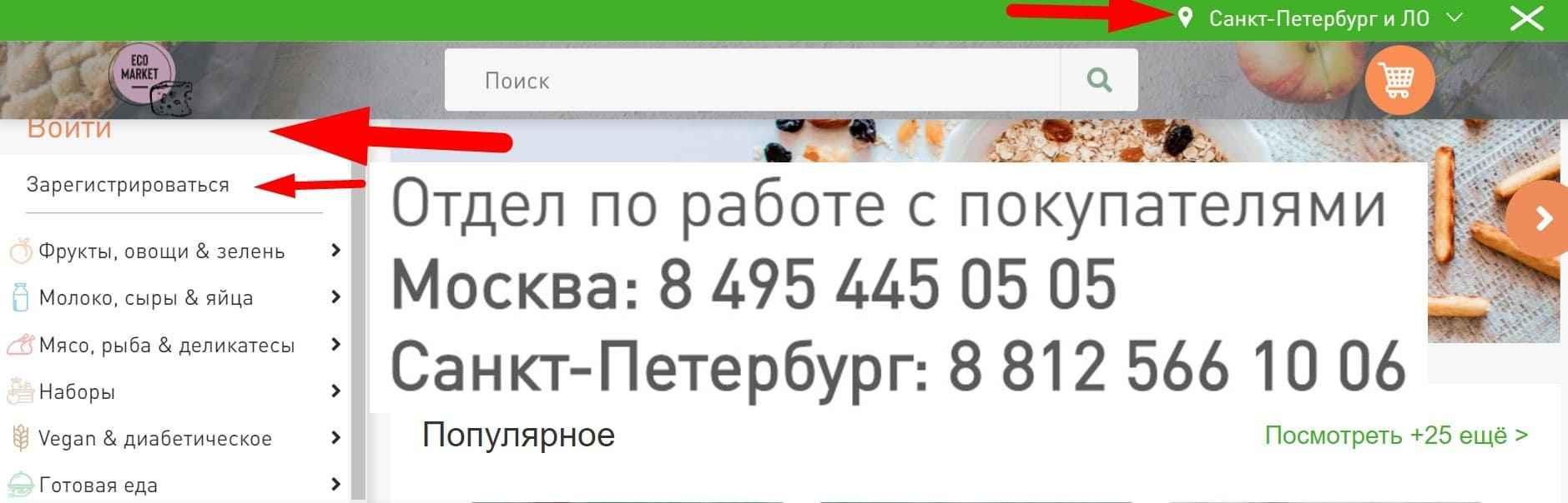 Экомаркет СПБ
